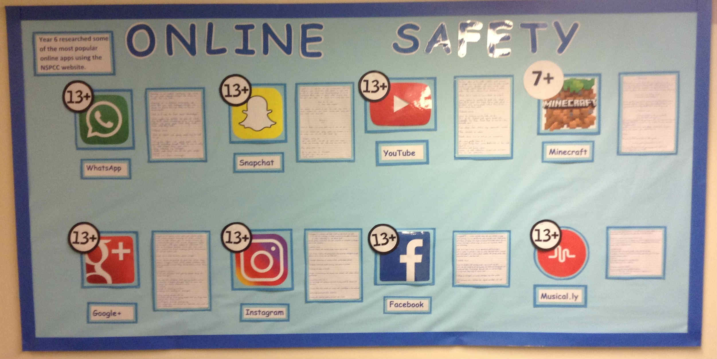 online safety dispaly